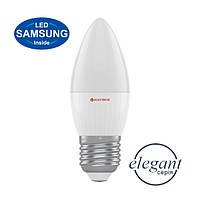 Лампа светодиодная свеча Electrum Elegant 6 W E27 4000K
