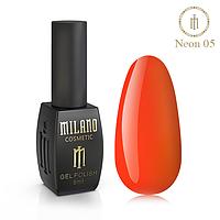 Гель-лак MILANO Neon NE-05 8 мл
