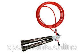 Скакалка швидкісна PowerPlay 4202 Червона