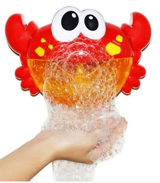 Игрушка для купания пускающая пузыри Metoo Bubble Crab