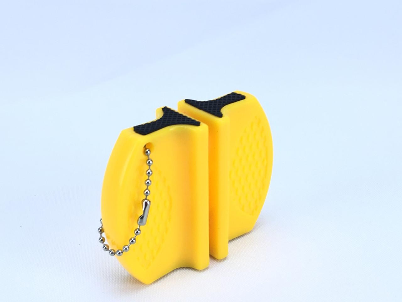 Портативна точилка для кухонних ножів (жовта)