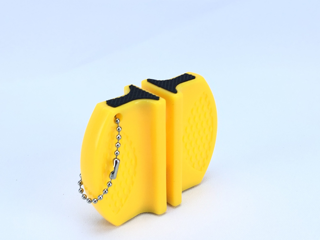 Точилка для кухонных ножей, желтая