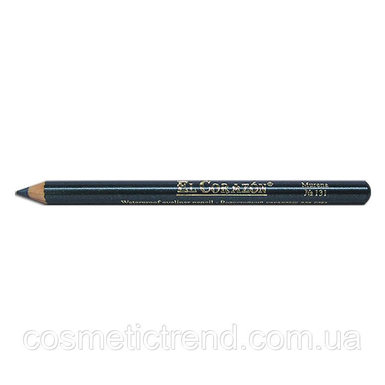 Карандаш для глаз водостойкий деревянный Murena №131 El Corazon Waterproof eyeliner pencil (распродажа)