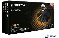 Чорні господарські рукавиці з нітрилу RMM-PGRIP B