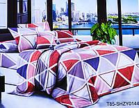 Комплект постельного белья Треугольники бязь размер полуторный