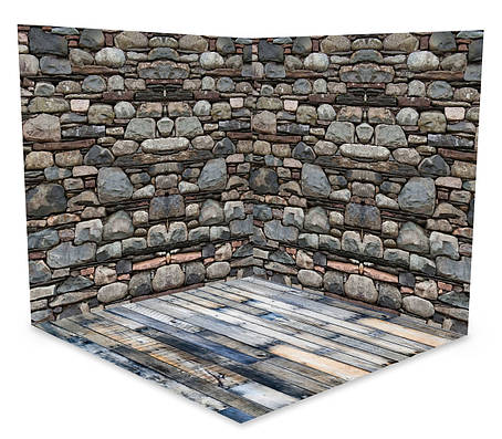 Виниловый 3D фотофон две стены и два пола № W057, фото 2