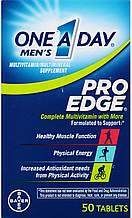 One A Day Pro Edge, Bayer, мультивитамины для мужчин, для иммунитета и здоровой функции мышц, 50 таблеток