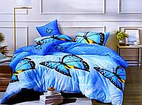 Комплект постельного белья Бабочки бязь размер полуторный