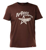 Футболка Airboss Star Wings 271170003225 (коричнева)