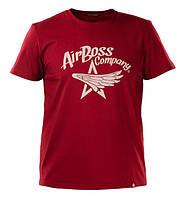 Футболка Airboss Star Wings 271170003225 (бордова)