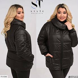 Женская Куртка демисезонная синтепон 150 50-52, 54-56, 58-60