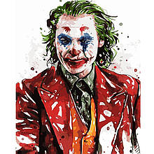 Картина по Номерам Акварельный Джокер 40х50см Strateg