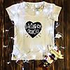 Женская футболка с принтом - В активном поиске