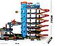 Детская парковка для машин со спуском, самая большая игровая парковка с машинами для мальчика 92820, фото 6