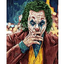 Картина по Номерам Джокер под дождем 40х50см Strateg