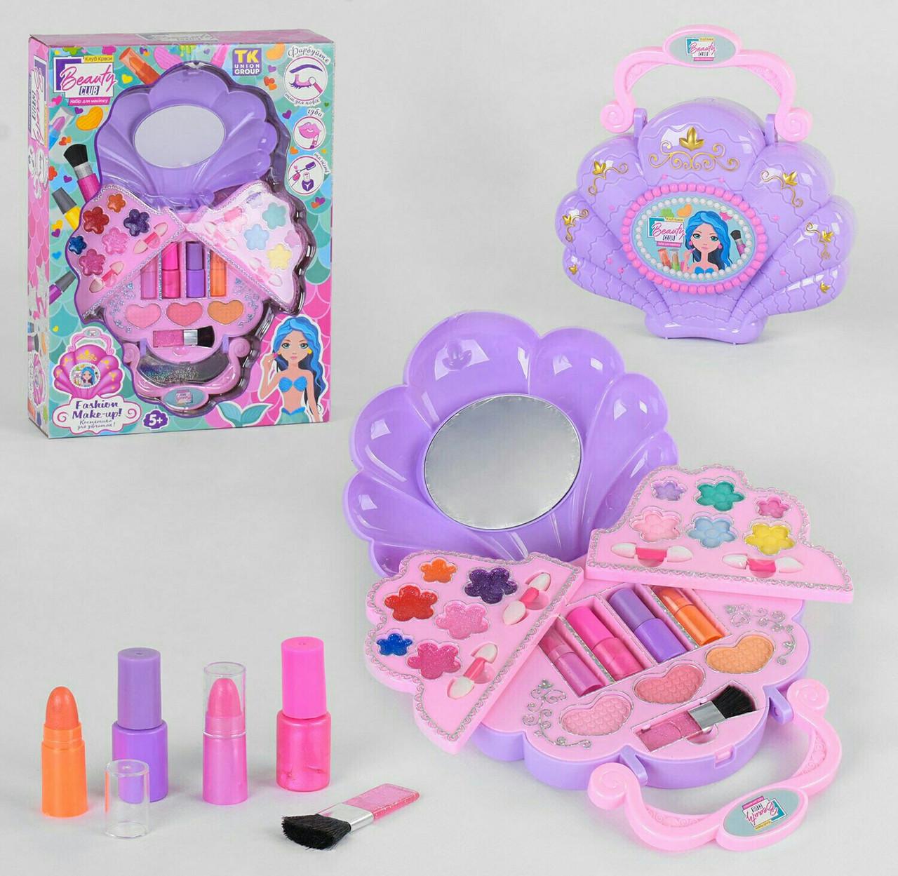 Детский набор косметики 0145,тени, лаки, помада - набор косметики для девочек