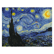 Картина по Номерам Звездная ночь 40х50см Strateg