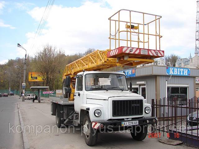 Послуги автовишки Київ в Києві Автовишки в Києві