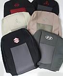 Авточохли на Citroen Jumpy 2004-2007 роки 1+1 van,Сітроен Джампі 1+1, фото 5