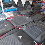 Авточохли на Citroen Jumpy 2004-2007 роки 1+1 van,Сітроен Джампі 1+1, фото 9