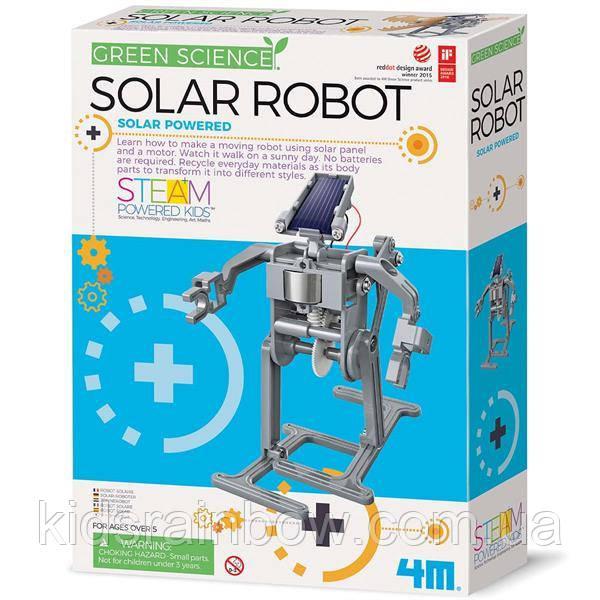 Робот на сонячній батареї своїми руками 4M (00-03294)