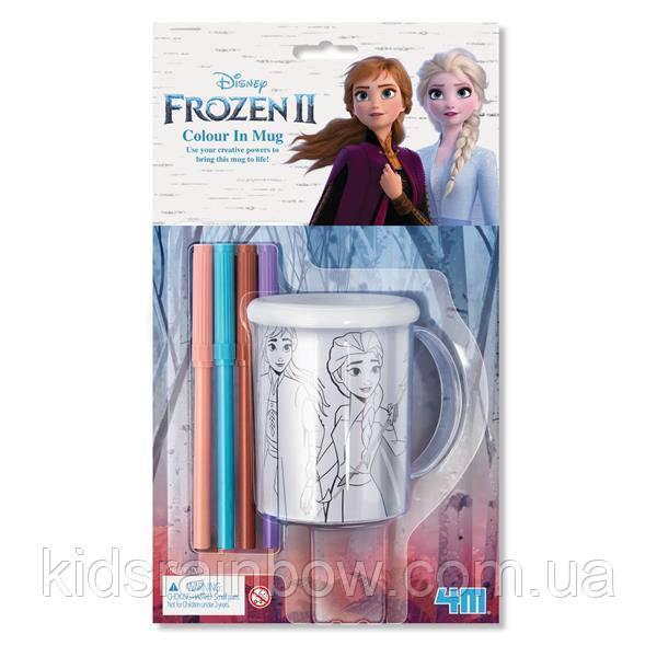 Розфарбуй чашку 4M Disney Frozen 2 Холодне серце 2 (00-06200)