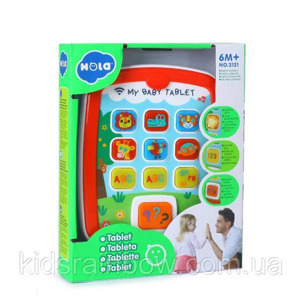 Музична розвивальна іграшка Hola Toys Планшет (3121)
