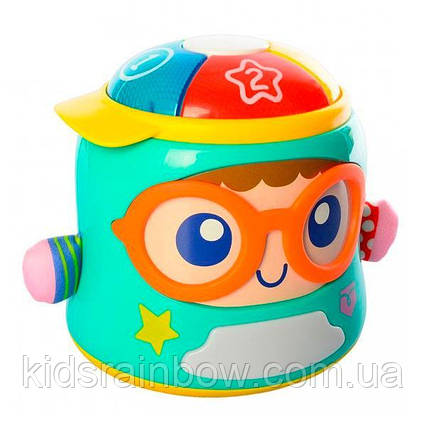 Інтерактивна іграшка-нічник Hola Toys Щасливий малюк (3122)