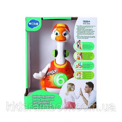 Інтерактивна музична іграшка Hola Toys Танцюючий гусак (828-red)