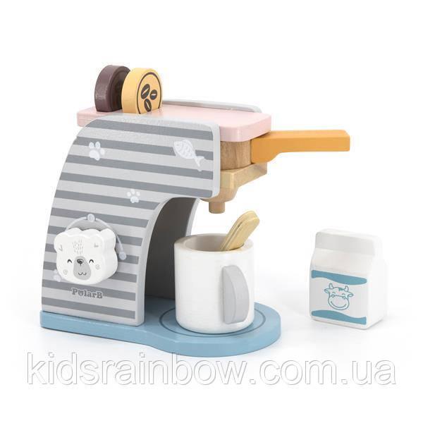 Іграшкова кавомашина Viga Toys PolarB з дерева (44018)