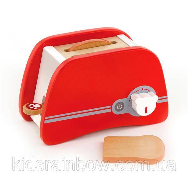 Іграшковий тостер Viga Toys з дерева (50233)