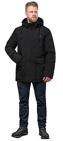 Зимова парку практична чорного кольору чоловіча модель 71360 48 (M)