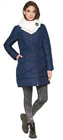 Куртка жіноча синя зимова модель 5266