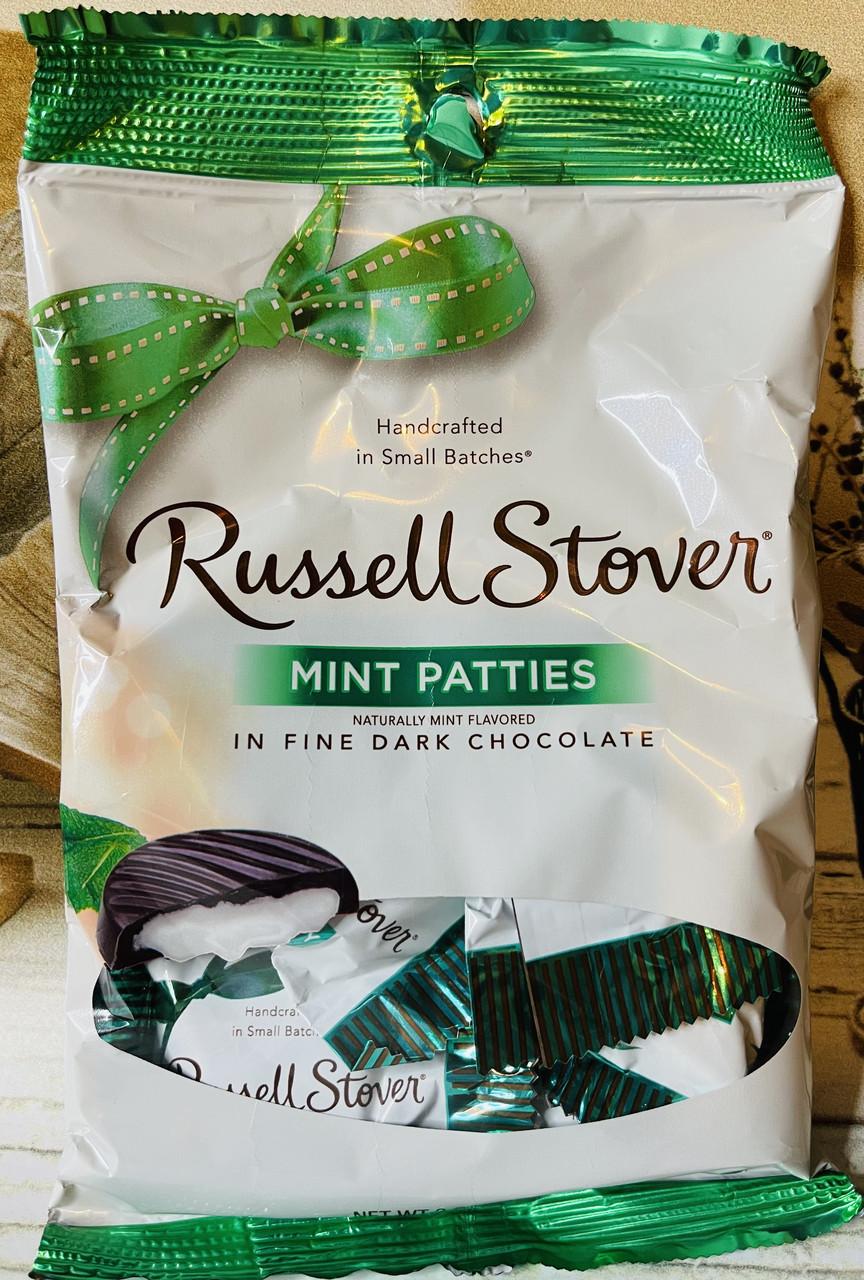 Шоколадные конфеты Russell Stover Mint с мятной начинкой