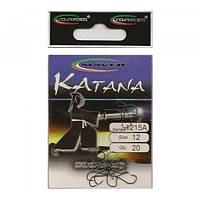 "Гачки ""Katana"" Японія(20 шт/уп).- 1215A 14 Maver"