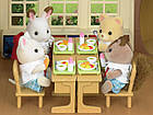 Сильваниан фэмилис мишка Ава повар школьный ланч Sylvanian Families Calico Critters, фото 3