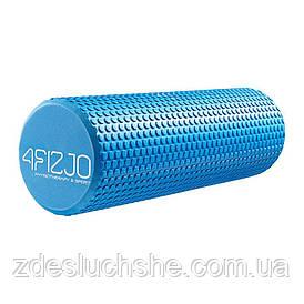 Массажный ролик, валик, роллер 4FIZJO Eva 45 x 15 см 4FJ0119 Blue SKL41-240433