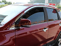 Хромированные накладки на стекла (молдинг стекольный)  Great Wall Hover M4 2012+