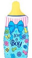 Шар с гелием  бутылочка «Это Мальчик!»