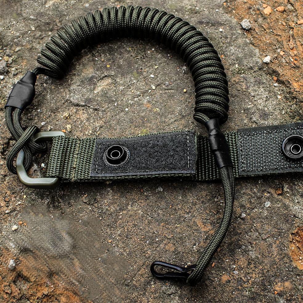 Шнур страхувальний для пістолета олива