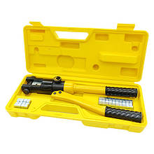 Ручной гидравлический пресс для наконечников и гильз YQK-120 (10-120 мм²) СТАНДАРТ HCRT0120
