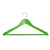 Вешалка для одежды Мой Дом EVERYDAY 44.5 х 1.2 см зеленый