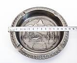 Колекційна попільничка, олово, Німеччина, Альпи, фото 6