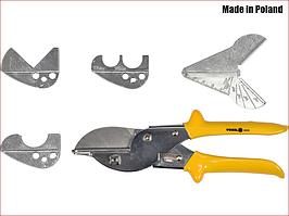 Ножницы  для резки пластиковых профилей с транспортиром VOREL 48350