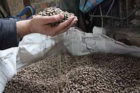 Пеллеты древесные, гранулы 8 мм
