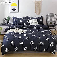Півтораспальний постільний комплект - Панда