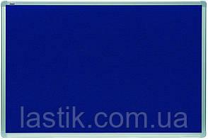 Дошка 45x60 см текстильна в алюмінієвій рамці ALU23