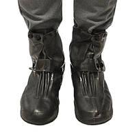 Защитные чехлы для обуви, застежка - кнопка, коричневые, размер 2XL