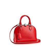 Женская сумка Louis Vuitton Alma Red