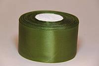 Лента (атлас) цвет зеленый
